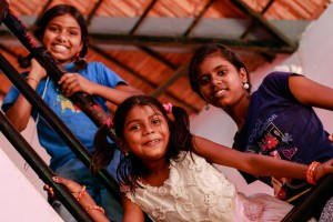 These girls have improved their English language skills thanks to a grant from The Kiran Anjali Project.