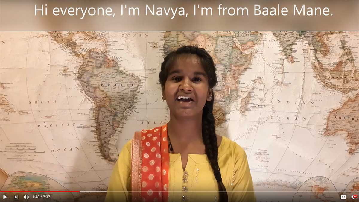 Navya's video